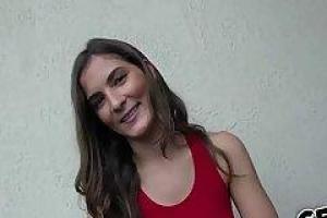 Busty babe Eva Angelina slammed in her snatch